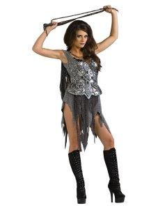 Silver Glamazon Costume