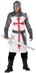 Men's Crusader Costume