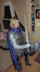 Brienne of Tarth Costume - Right Side View