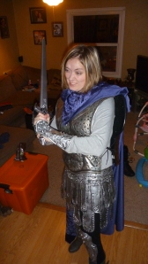 Brienne of Tarth Costume - Left Side View
