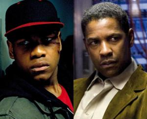 John Boyega and Denzel Washington comparison