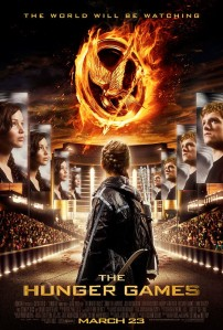 The Hunger Games Poster Katniss arena