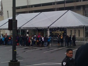 Hunger Games University Village Mall Event