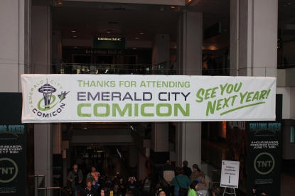 Emerald City Comic Con poster
