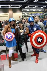 Captain Americas taking Loki into custody