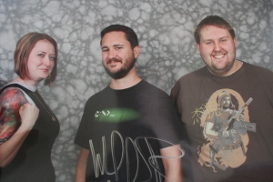 Mindy, Wil Wheaton, and Dan