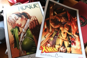 Rogue and Gambit Prints